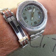 Swatch Irony  #watch #womw #wotd #timepiece #wristporn #watchgramm #wristshot #wristswag #wristgame #watchfam #wristwatch #watchesofinstagram #dailywatch #watches #watchgeek #watchnerd #instagood #igers #instalike #picoftheday #me #fashion #swag #photooftheday #style #love #time #instadaily #TagsForLikes #TFLers
