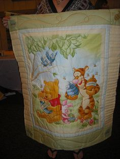 Hailey's Baby Quilt ~ Whinnie the Pooh
