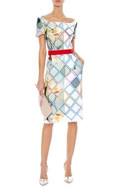 Liberty Printed Crepe Dress by Preen by Thornton Bregazzi - Moda Operandi