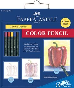 Color Pencil Creative Studio Getting Started Art Kit 800084 - Kits & Sets $14.24