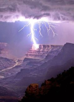 Lighting at Grand Canyon National Park By Cane Jason
