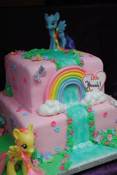 my little pony cakes | My little Hannah Birthday cake