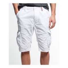 f59ccc270dadd Superdry Core Cargo Lite Shorts (3.375 RUB) ❤ liked on Polyvore featuring  men's fashion