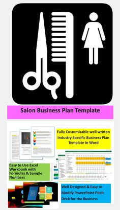 Liquor store business plan business plan template pinterest salon business plan template great easy to use templates for starting running a salon cheaphphosting Gallery