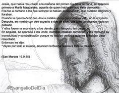 """#EvangelioDelDia ...  """"Vayan por todo el mundo, anuncien la Buena Noticia a toda la creación"""""""