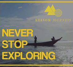 """""""Never Stop Exploring"""" -  Khanom Journey  by Le Pes Villas, Thailand"""
