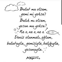 İyiki doğdun Nazım Hikmet Poem Quotes, Words Quotes, Best Quotes, Poems, Sayings, Meaningful Quotes, Inspirational Quotes, Poetic Words, Poetry Books