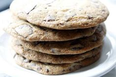 Giant chocolate chip cookies from Joan's on Third (Kirk McKoy / Los Angeles Times)