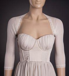 CREATIVE Wedding IVORY Bolero with 3/4 Sleeves by uniquastudio, $49.00