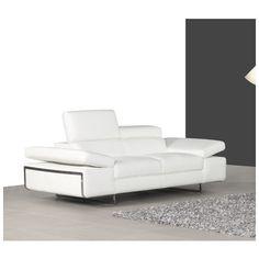 Bellini Modern Living Bocca Leather Love Seat Bocca-LS