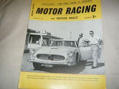 BRUCE MCLAREN PROFILE 1960 SEBRING US GRAND PRIX COOPER AUSTIN ULSTER RARE Bruce Mclaren, 4 Hours, Maserati, Grand Prix, Racing, Profile, Ebay, Running, User Profile