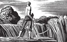 Rockwell Kent illustration.