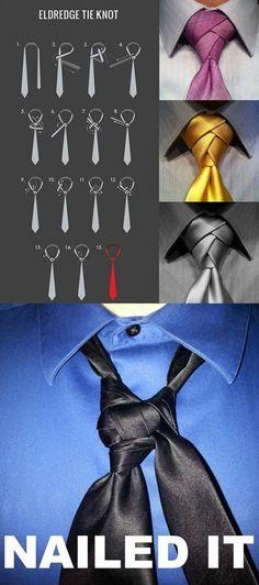 Cambiemos el nudo de la corbata