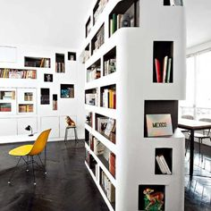 bibliothque design nos plus belles inspirations home library - Home Library Bookshelves