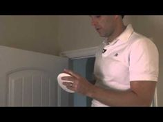 Card Access Ceiling-Mount Wireless Motion Sensor Installation