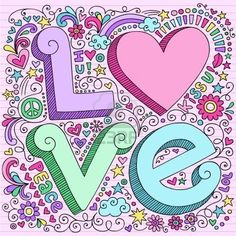 Google Image Result for http://us.123rf.com/400wm/400/400/blue67/blue671011/blue67101100008/8197685-hand-drawn-3d-love-lettering-psychedelic-groovy-notebook-doodle-design-elements-on-pink-lined-sketch.jpg
