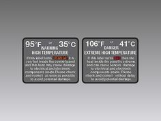 Product Overview High Temperature Warning Sticker The Nex Flow™ High Temperature Warning Sticker provides a qualitative monitoring of the temperature inside of electrical and electronic control panels. Compressed Air, Flow, Sticker, Products, Decals, Decal, Beauty Products