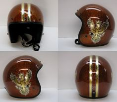 BILTWELL Novelty Helmets - OLD SCHOOL HELMETS & Custom Paint