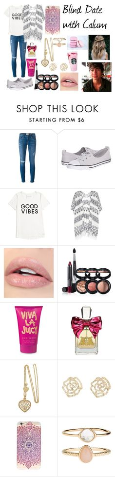 """Blind Date With Calum"" by kateloves5sos on Polyvore featuring Frame Denim, Converse, Tommy Hilfiger, Velvet, Laura Geller, Juicy Couture, Charlotte Russe and Accessorize"