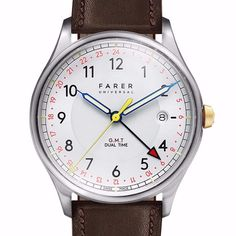 Inspired by great British adventurers, Farer's impressively sleek and sporty watches made this new homegrown brand one of our favourite launches of last year. We especially like the Barnato, poweered by a Swiss-made Ronda 515.24h movement covered by an outstanding curved face with colour-popping hands. £420. Available to buy now at @fareruniversal // Follow GQ editor Dylan Jones @dylanjonesgq