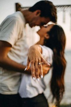 """27 Engagement Photos That Inspire To Say """"Yes"""" ❤ Engagement photos are the perfect way to say """"We will get married!"""". This photos are a popular option for couples who are announce their proposal.     #ohsoperfectproposal #diamondrings #weddingrings #proposalideas #creativeproposalideas #engagementphotos #uniqueproposalideas #engagementrings #engagementannouncement #romanticengagementphotoideas #engagementrings"""