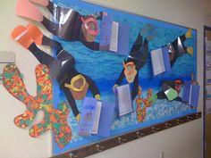 Scuba divers bulletin board