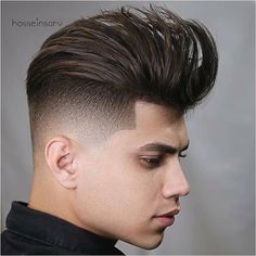 "Men's Hairstyles & cuts on Instagram: ""What do you think of this hairstyle? Comment below 👇 Tag a Friend! ❤️ Credit: @hosseinsarv 🔥🔥 ➖➖➖➖➖➖➖➖➖➖➖ 👉 FOLLOW US @haircutsboyz 👈 . ."" Hair Lights, Light Hair, Trending Hairstyles For Men, Cool Hairstyles, Present For Groom, Very Short Hair, Punk Outfits, New Haircuts, Pompadour"