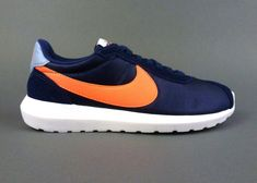79895221a12e Nike women s Roshe LD-1000 casual shoes sneakers Blue Bright Mango White  size 9