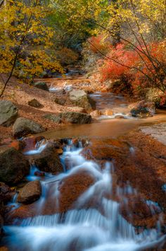 Cheyenne Canyon Colorado Springs In Autumn