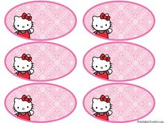 Printable Hello Kitty Tags