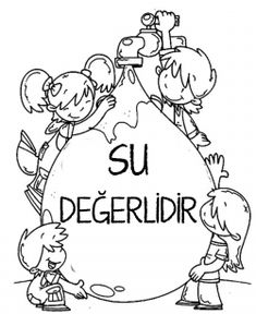 Enerji tasarrufu haftası Earth Day Coloring Pages, Diy And Crafts, Crafts For Kids, Page Online, Reggio Emilia, Classroom Activities, Stress And Anxiety, Preschool, Cross Stitch