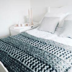 Diy Knit Kit Chunky Blanket 40' x 60'