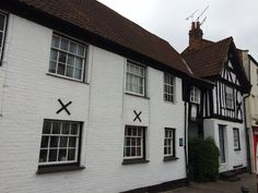 I am imagining this as one of the inns that Harry visits