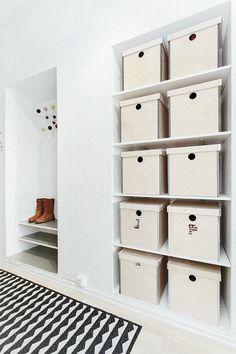 #Grünerløkka #Oslo #Scandinavian #storage Oslo, Shelving, Scandinavian, Storage, Holiday Decor, Ikea, Inspiration, Home Decor, Rome