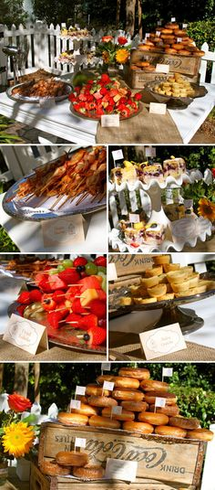 Vintage Fall Birdcage Baby Shower Brunch