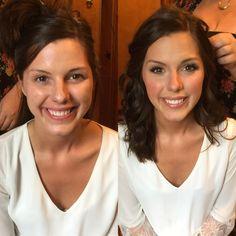 #beforeandafter bridal makeup by #izzybmakeup
