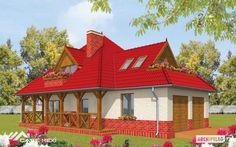 Proiecte de case simple cu cerdac. Locuinte frumoase traditionale - Case practice