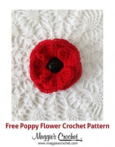 Knitted Poppy Pattern For British Legion : FREE Knitted and Crocheted Poppy \Royal British Legion Project for 2014 Cro...