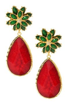 East Lake Autumn Earrings by Amrita Singh on @HauteLook  Perfect for Holiday parties!
