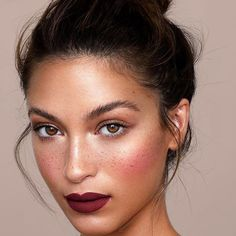 We Stan a mauve lip color ? Cassie Amato w hair and makeup by ret… We Stan a mauve lip color ? Cassie Amato w hair and makeup by retouch Darren Sutherland.mb shot with best light ever! Eye Makeup, Glam Makeup, Makeup Inspo, Bridal Makeup, Wedding Makeup, Makeup Inspiration, Beauty Makeup, Hair Beauty, Bold Lip Makeup