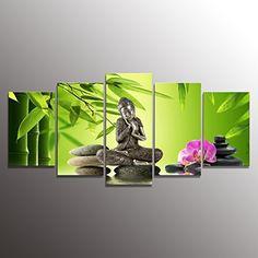 K&N- Buddha & Zen Wall Art Printed Canvas Giclee Painted Photo Framed Decor Gift