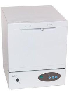 Haier HDT18PA Space Saver Compact Countertop Dishwasher http://shorl.com/vajetyfraveha