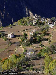 Zhonglu . Rural Tibet
