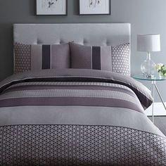 Home Collection Purple 'Adelle' jacquard bedding set | Debenhams