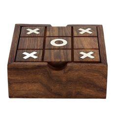 Solitario y tic tac toe dos en un juego ambientado juguetes de madera de la India ShalinIndia http://www.amazon.es/dp/B009YQJ3U4/ref=cm_sw_r_pi_dp_NVH1vb0WFMDTV