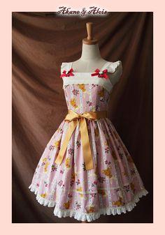 ◆ Akane & Alois ◆ Tailor customization. Berry Berry time. JSK-Taobao $78.50