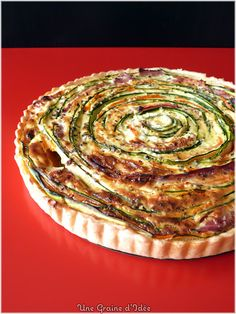 A Seed Idea: Carrot Zucchini Pie Spiral Ham {St} Môret