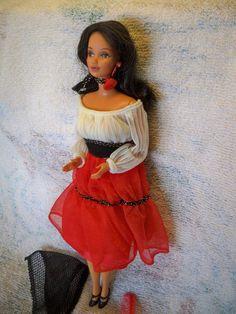 Vintage 1979 Hispanic Hispanica Barbie Doll Mattel #1292 Beautiful NO BOX #Mattel