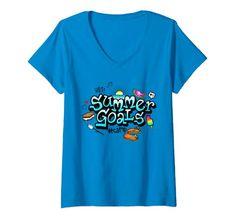 Summer Goals, Tanks, V Neck T Shirt, Spirit, Amazon, Women, Fashion, Moda, Riding Habit