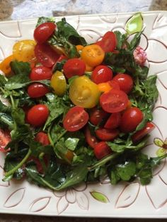 Watercress, Dandelion and Tomato salad...